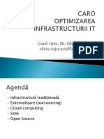 CARO Optimizare Infrastructura