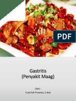 Gastritis penyuluhan