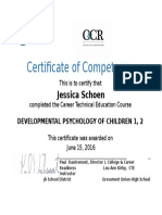 certificate--dev psychologyofchildrenwkirby doc  2