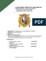Influencia de los factores socioeconómicos y culturales del embarazo adolescente en Los distritos de Villa María del Triunfo (José Gálvez Barrenechea) y Punta Hermosa.