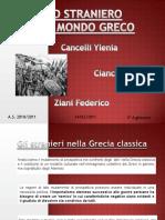 Stranieri Nella Grecia Classica 2003