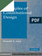 Donald S. LUTZ (2006) - Principles of Constitutional Design.pdf