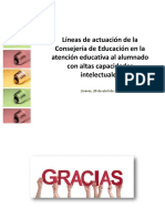 Altas Capacidades Linares Abril 2017