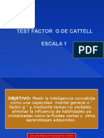 CALIFICACION CATTELL 1