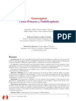 Gastrosquisis umbilicoplastia