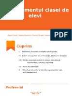 Managementul Clasei de Elevi - Tema Nr. 4