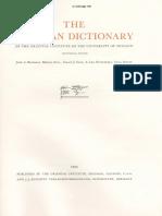 Dicionário Assírio S