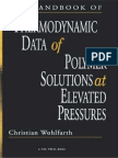 WOHLFARTH C. - CRC Handbook of Thermodynamic Data of Polymer Solutions at Elevated Pressures - (CRC PRESS 2005; 648 p).pdf