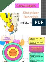 Diap.sintetizar y Describir