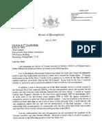 Senators' letter about Hillcrest clinic violations