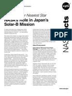 NASA 174262main solarb factsheet