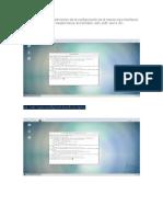 Debera Enviar El Procedimiento de La Configuración de Al Menos Tres Interfaces de Red a Partir de Una Tarjeta Fisica