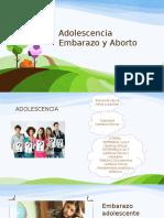 Adolescencia Embarazo y Aborto