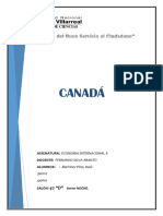 Canada Monografia