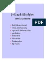 Buckling of Stiffened Plates