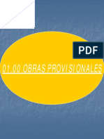 1.00 Obras Provisionales
