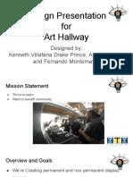 design presentation -template art hallway  2