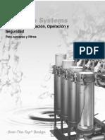 Manual de Operación Filtros Canasta