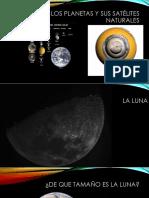 Los Planetas y Sus Satélites Naturales