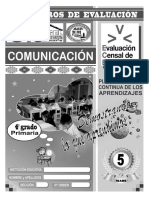Comunicación v - 4ª Grado Ugel Chanchamayo