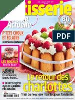Cuisine Actuelle Patisserie - Juin Juillet Aout 2017