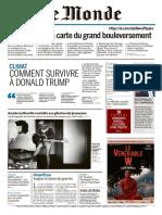 Le Monde Du Dimanche 4 Et Mardi 6 Juin 2017
