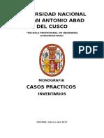 CASOS PRACTICOS INVENTARIOS
