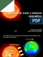 Clase2 Radiacion Solar y Balance Energetico