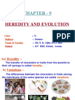 Heredity And Evolution Class 10 Pdf