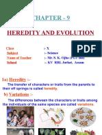 Heredity And Evolution Class 10 Pdf