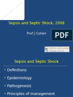 Sepsis and Septic Shock,Mauritius, 2008