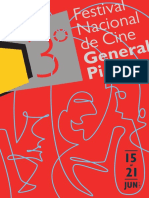 Revista de 3° Festival Nacional de Cine General Pico