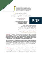 Proyecto-segunda Feria de La Lectoescritura
