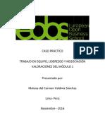 Caso Práctico Kleango Sa y Vertical-Valoraciones Del Módulo 1-Malena Valdivia