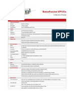 Mindray BeneFusion VP5 EX Infusion Pump Brochure (1)