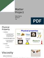 davis matter project