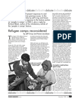 Refugee Camps Reconsidered by Jeff Crisp and Karen Jacobsen