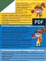 10 Formas de Potenciar La Inteligencia en Niños y Niñas