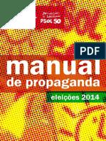 Manual de Propaganda - Psol 2014