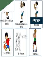 Posiciones Baloncesto y Voleibol