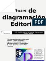 Software de diagramación Editorial