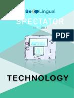 Spectator 2017 - Technology