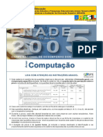 2005 Prova Computacao