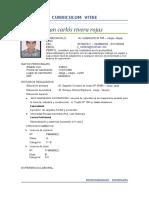 Curriculum Vite Rivera Rojas Juan Carlos