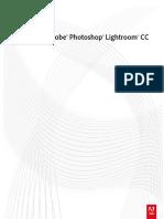 Adobe Lightroom CC. Manual del usuario