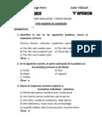 Primer Simulacro - Sede Villasol