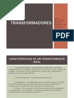 Trabalho Transformadores