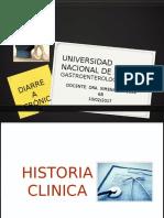 Historia Clinica Diarrea Cronica