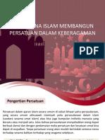 Bagaimana Islam Membangun Persatuan Dalam Keberagaman