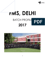 Batch Profile - 2017